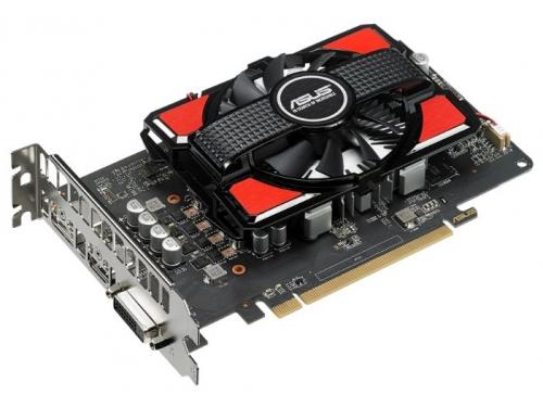 Видеокарта Radeon Asus Radeon RX 550 2Gb 128Bit DDR5 HDMI/DP RX550-2G, вид 1