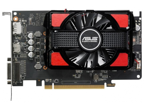 Видеокарта Radeon Asus Radeon RX 550 2Gb 128Bit DDR5 HDMI/DP RX550-2G, вид 2