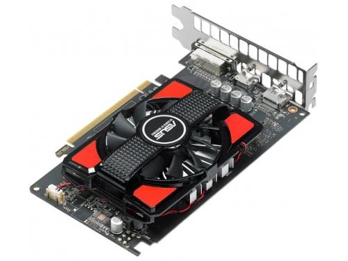 Видеокарта Radeon Asus Radeon RX 550 2Gb 128Bit DDR5 HDMI/DP RX550-2G, вид 4