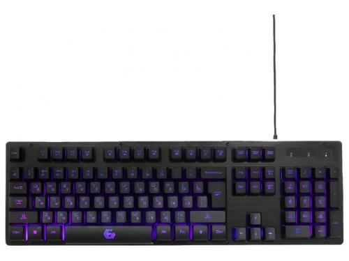 Клавиатура Gembird KB-G400L USB, черная, вид 2