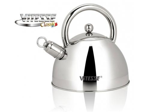 Чайник для плиты Vitesse VS-7802 со свистком, вид 1