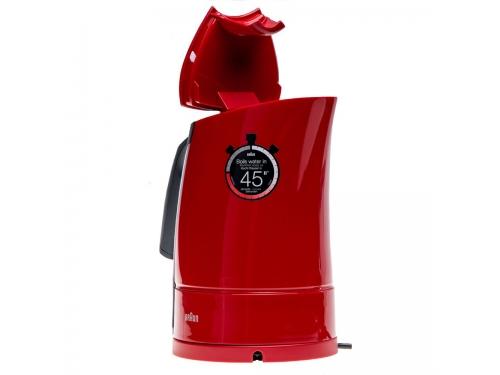 Чайник электрический Braun WK 300, красный, вид 6