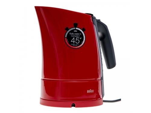 Чайник электрический Braun WK 300, красный, вид 5