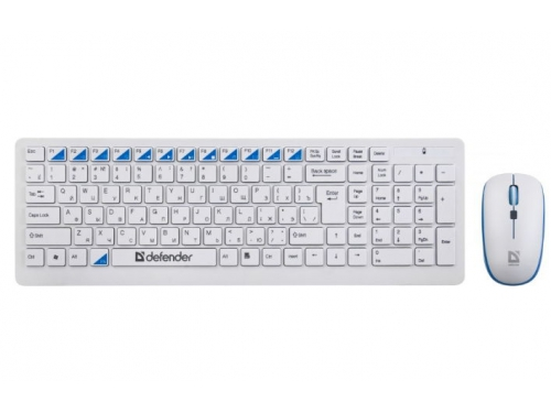 Комплект Defender Skyline 895 Nano White USB, вид 1