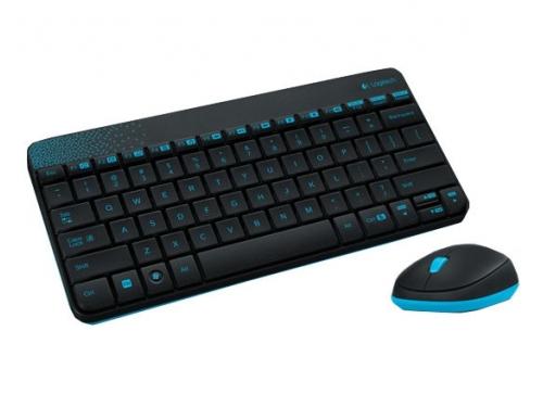 Комплект Logitech Cordless MK240 Black (920-005790), вид 1