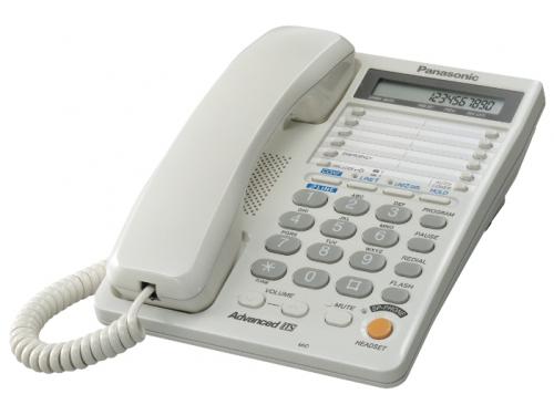 Проводной телефон Panasonic KX-TS2368RUW, Белый, вид 1