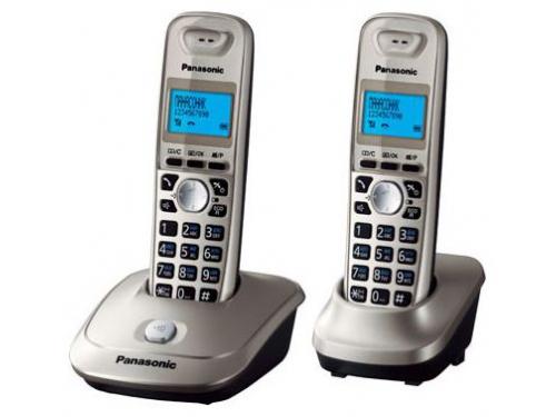 Радиотелефон Panasonic KX-TG2512RU2 черный-титан, вид 1
