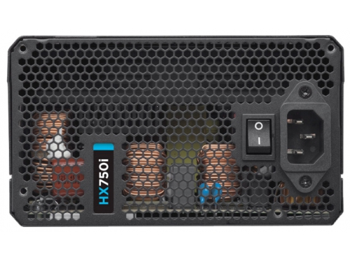 Блок питания Corsair ATX 750W HX750i Modular (CP-9020072-EU), вид 4
