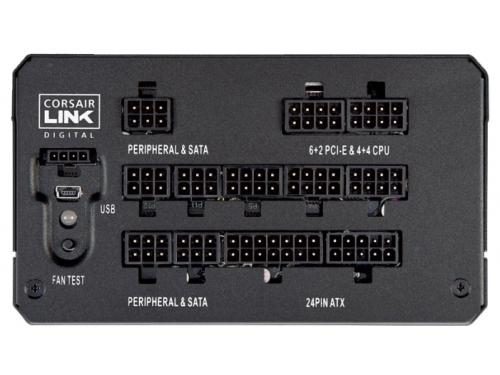 Блок питания Corsair ATX 750W HX750i Modular (CP-9020072-EU), вид 5