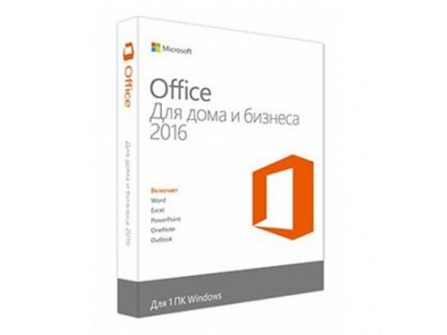 Офисная программа MS Office 2016 для дома и бизнеса, Рус. (BOX) T5D-02292, вид 1