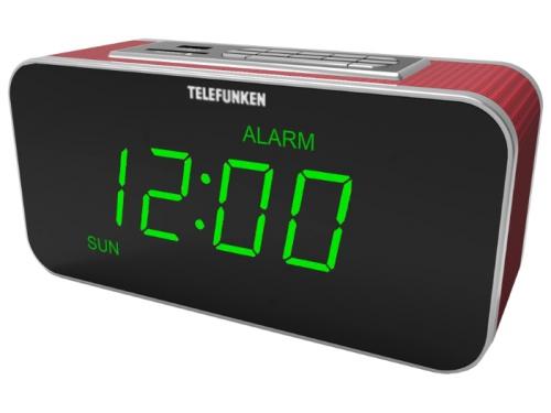 Радиоприемник Telefunken TF-1503U бургунди/зеленый, вид 1