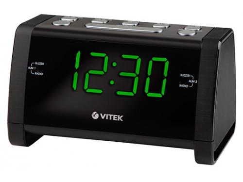 Радиоприемник Vitek VT-6608 чёрный, вид 1