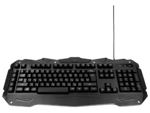 Клавиатура Gembird KB-G200L USB, черная, вид 1