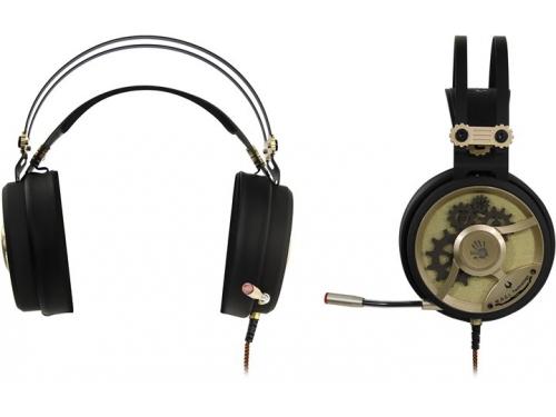 Гарнитура для ПК A4Tech Bloody M660, золотистая, вид 1