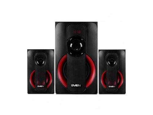 Компьютерная акустика Sven MS-304, черно-красная, вид 2