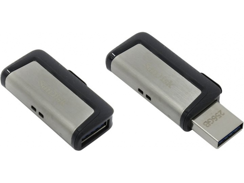 Usb-флешка SanDisk Ultra Dual 256Gb USB3.0/USB-C, вид 1