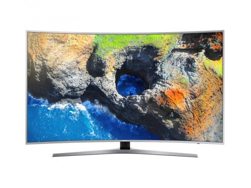 телевизор Samsung UE49MU6500U, Серебристый, вид 1