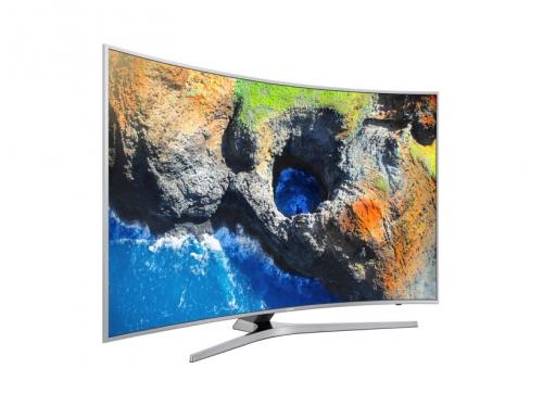 телевизор Samsung UE49MU6500U, Серебристый, вид 11