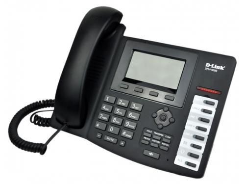 Проводной телефон D-Link DPH-400S/F4A, вид 1