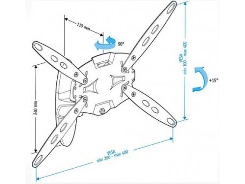 Кронштейн Holder LCDS-5026 ( 26-47