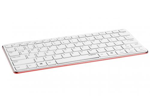Клавиатура Rapoo E6350, красная, вид 1