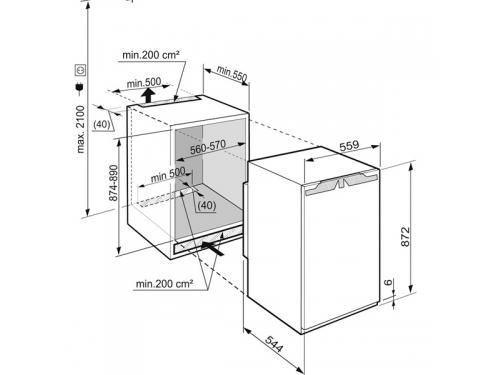 Морозильная камера Liebherr IG 1614-20, вид 3