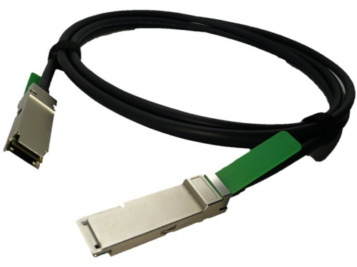 Кабель (шнур) Lenovo IBM 49Y7890 (compatible QSFP+ Copper Cable (DAC) for 40Gigabit, 1m, 30 AWG passive), вид 1
