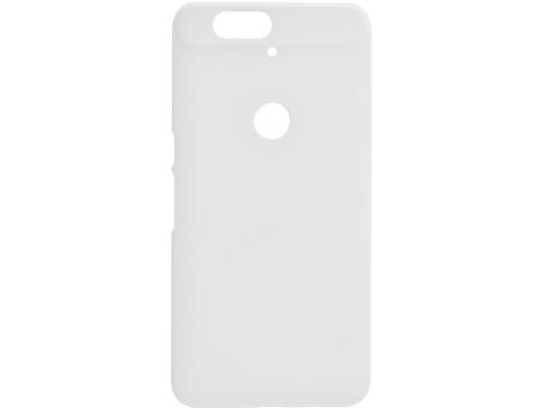 Накладка для Huawei Nexus 6P skinBOX. Серия 4People. Защитная пленка в комплекте. (Цвет-белый)