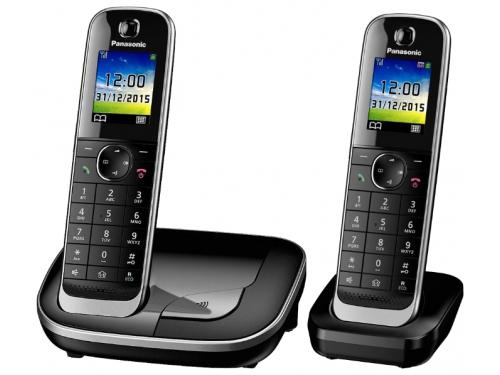 Радиотелефон Panasonic KX-TGJ312RUB, Чёрный, вид 1