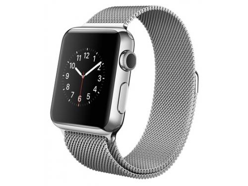 ����� ���� Apple Watch Apple 38mm Stainless Steel/Milanese Loop MJ322RU/A, ��� 1
