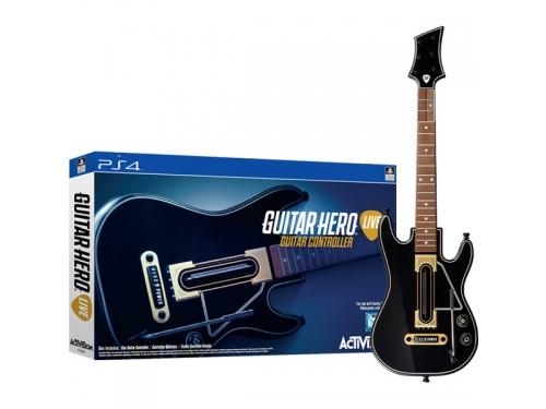 Игровой контроллер специальный гитара PS4 Guitar Hero Live, вид 1