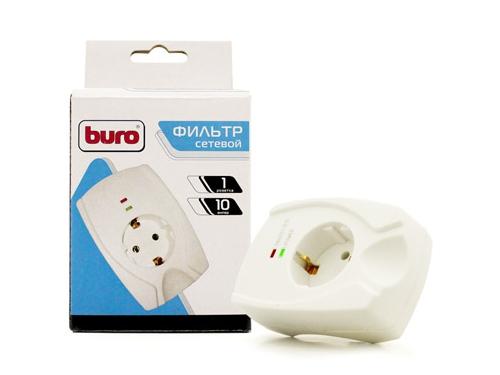 Сетевой фильтр Buro 100SH-Plus-W White, вид 1