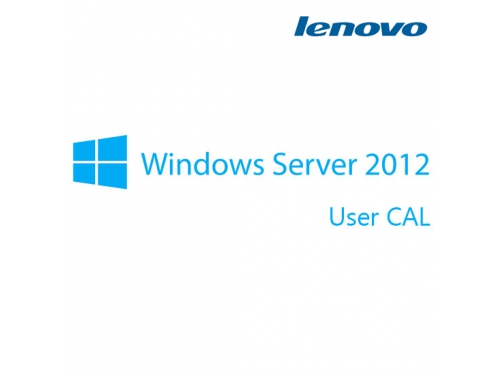 Программа Lenovo Microsoft® Windows Server® 2012 Client Access License (10 User) (0C19606), вид 1
