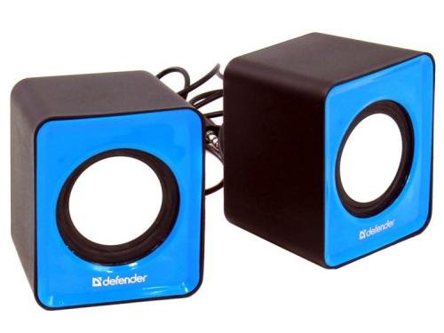 Компьютерная акустика Defender SPK-22, голубая, вид 2