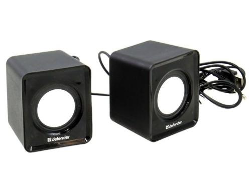 Компьютерная акустика Defender SPK-22, чёрная, вид 2
