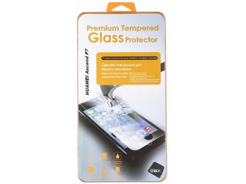 Защитное стекло для смартфона SkinBox для Huawei Ascend P7 (0.3mm 2.5D) Глянцевое, вид 1