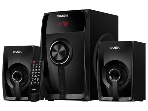 Компьютерная акустика SVEN MS-307 (2.1 ch, USB, Bluetooth, SD/MMC, Пульт ДУ, FM), вид 2