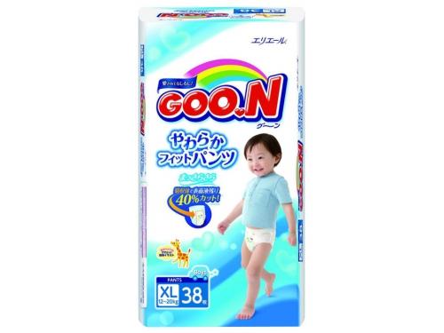 Подгузник Goon 12-20 кг (38 шт) BIG для мальчиков (трусики), вид 1
