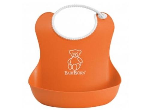 Товар для детей Нагрудник BabyBjorn Оранжевый/бирюзовый (2 шт.), вид 2