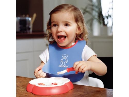 Товар для детей Нагрудник BabyBjorn Оранжевый/бирюзовый (2 шт.), вид 3