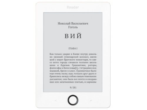 Электронная книга Reader Book 1 White, вид 1