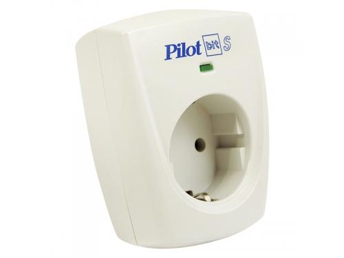 Сетевой фильтр Pilot Bit S (1 розетка), белый, вид 1