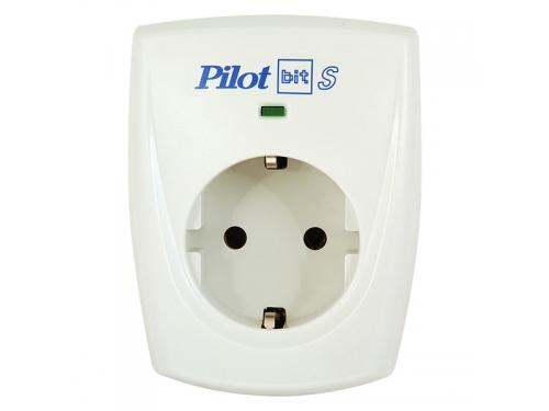 Сетевой фильтр Pilot Bit S (1 розетка), белый, вид 2