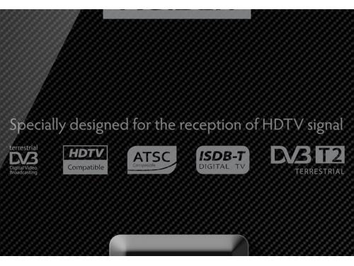 Антенна телевизионная Rolsen RDA-250 (активная, DVB-T/T2), вид 2