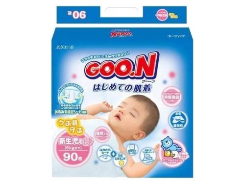 Подгузник Goon 0-5 кг (90 шт) NB, вид 1