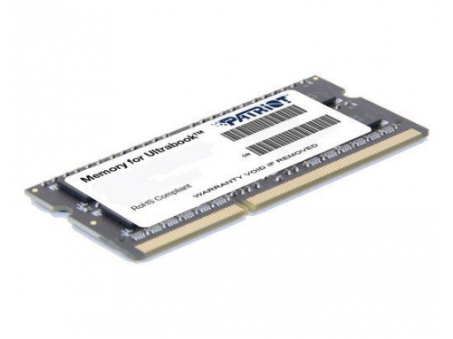 Модуль памяти DDR-3 SODIMM Patriot 4096Mb pc-12800 (PSD34G1600L81S), вид 2