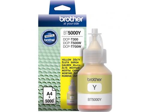 Чернила для принтера Brother BT5000Y Жёлтый 5000 стр., вид 1