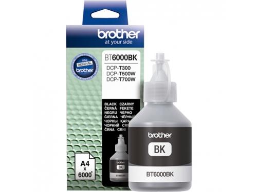 Чернила для принтера Brother BT6000BK Чёрный 6000 стр., вид 1