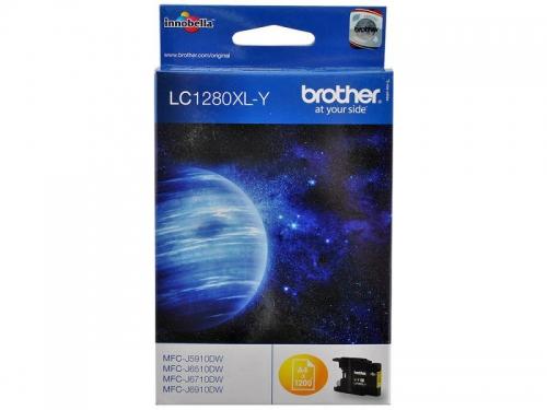 �������� Brother LC1280XLY Ƹ���� 1200 ���., ��� 2