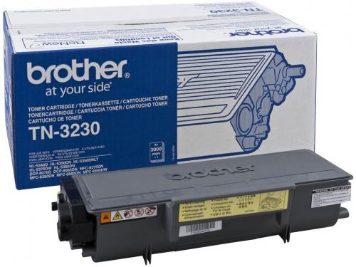 Картридж Brother TN-3230 Чёрный 3000 стр., вид 1